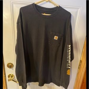 Men's Carhartt Long Sleeve T-Shirt X Large